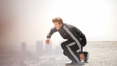 david beckham, footballer, roof