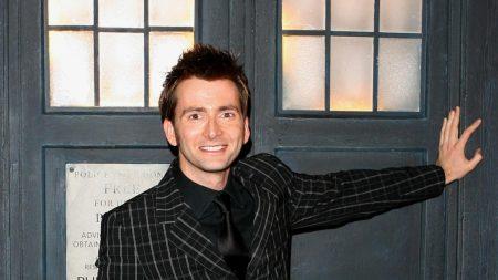 david tennant, jacket, smile