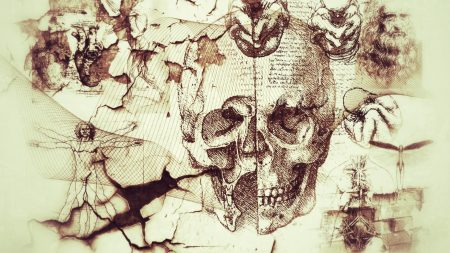 davinci, artifacts, abstract