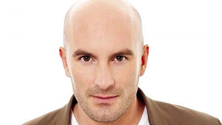 dean saunders, bald, face