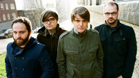 death cab for cutie, band, glasses