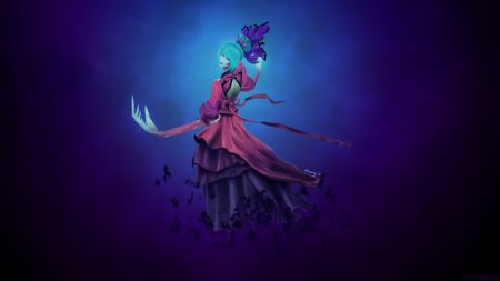 death prophet, dota 2, regalia of the mortal coil