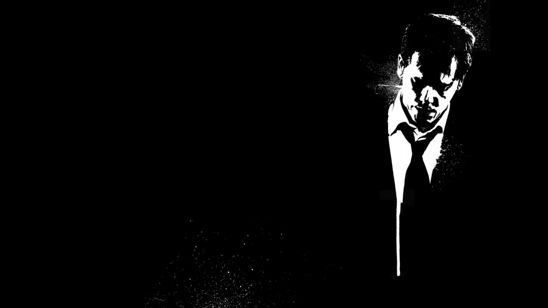 Download Wallpaper 1920x1080 Death Sentence Bw Black White Man