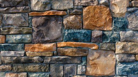 decorative, stone, cladding