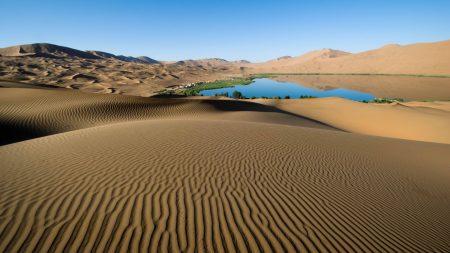 desert, sand, patterns