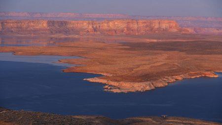 desert, sea, canyons