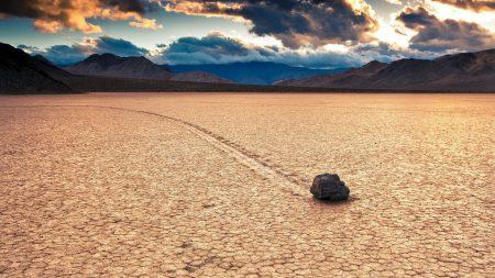 desert, sky, rocks