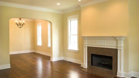 design, interior, fireplace