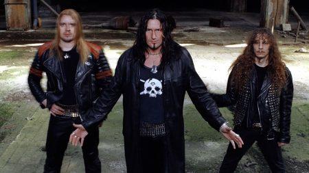 destruction, band, skull