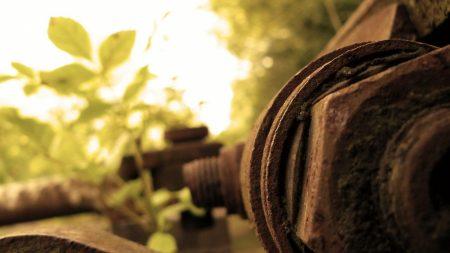 detail, metal, rust