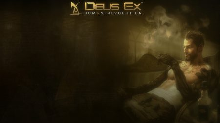 deus ex human revolution, smoke, cigarette
