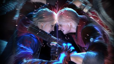 devil may cry, dante, battle