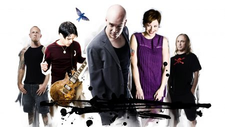 devin townsend project, bald, graphics