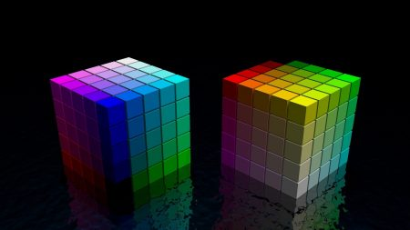 dice, cube, colorful