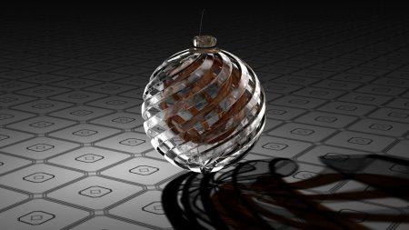 digital art, 3d, ball