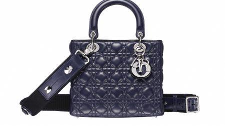 dior, bag, black