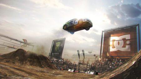 dirt, car, jump