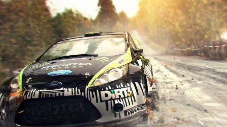 dirt, car, road