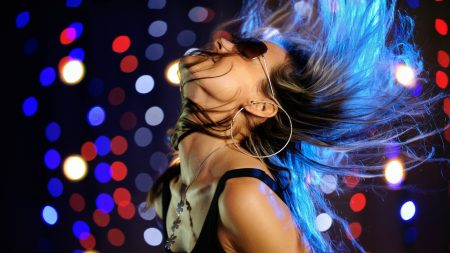 disco, club, girl