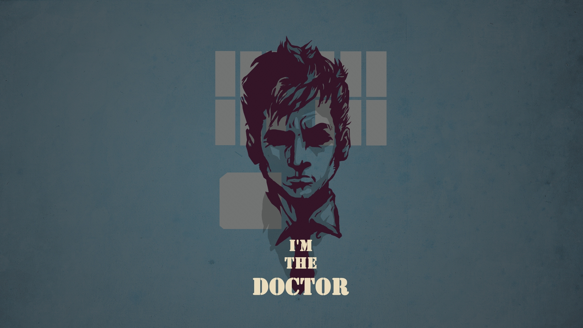 Download Wallpaper 1920x1080 Doctor Who Tardis Tennant Full Hd