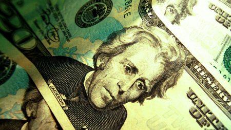 dollar, green, light