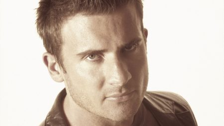 dominic purcell, brunette, face