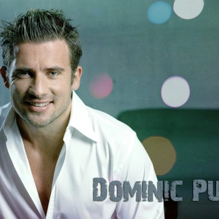 dominic purcell, smile, blond hair