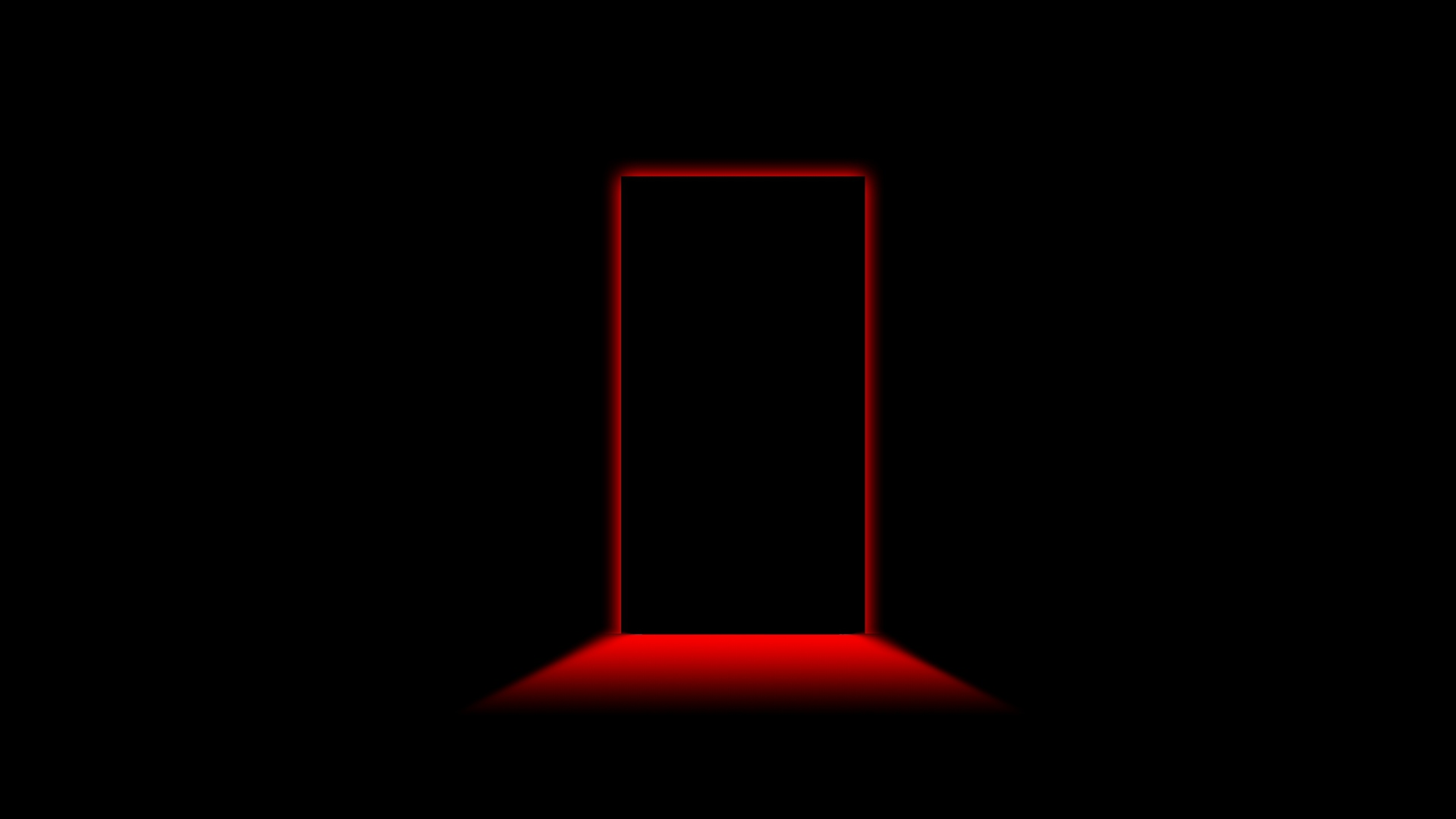 Earnings Disclaimer >> Download Wallpaper 1920x1080 door, light, shadow, black, red Full HD 1080p HD Background