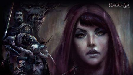 dragon age origins, girl, face
