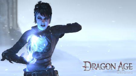 dragon age origins, girl, magic