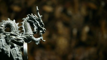 dragon, background, stone