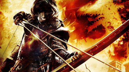 dragons dogma, bow, arrows