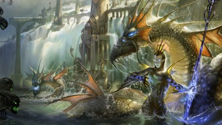 dragons, magic, undead