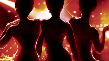 dreamgirls, silhouettes, girls