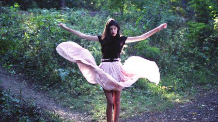 dress, girl, dance