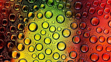 drops, colors, circles