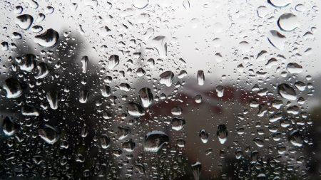 drops, rain, glass