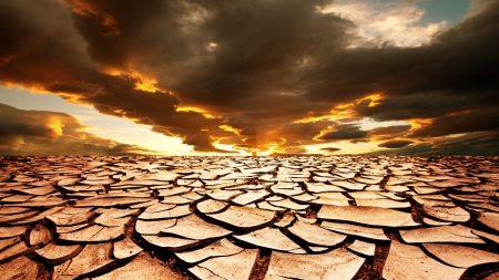 drought, earth, cracks