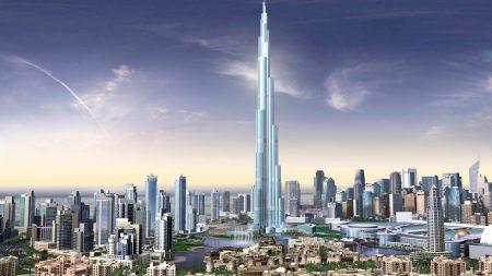 dubai, building, sky
