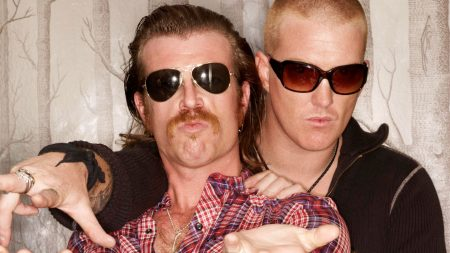 eagles of death metal, glasses, mustache