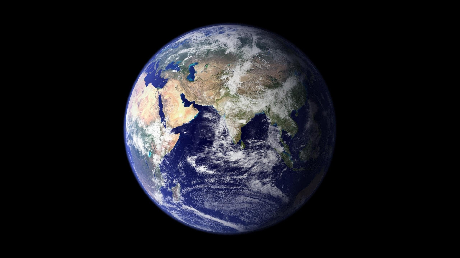 Download Wallpaper 1920x1080 Earth Planet Space Full Hd 1080p Hd