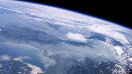 earth, surface, clouds