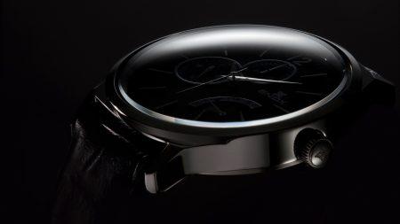 edox, clock, dark