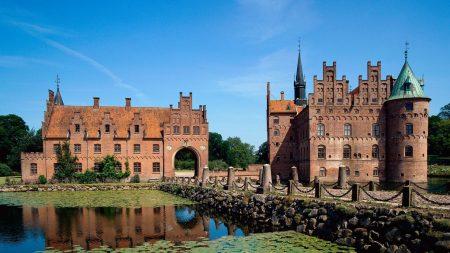 egeskov, castle, fyn island