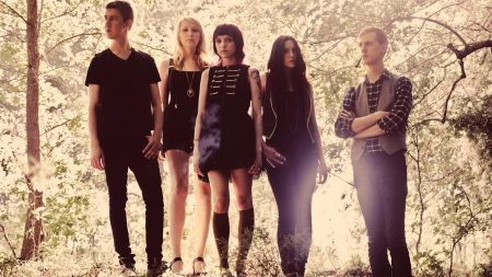eisley, band, girls
