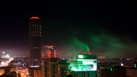 ekaterinburg, city, skyscraper
