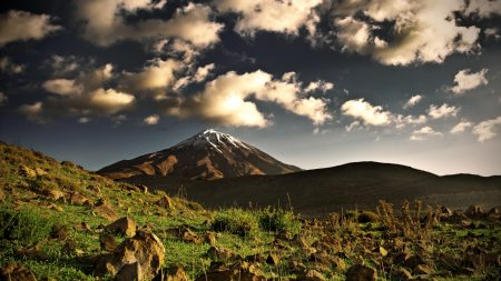 elbrus, mountain, top