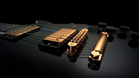 electric guitar, instrument, string
