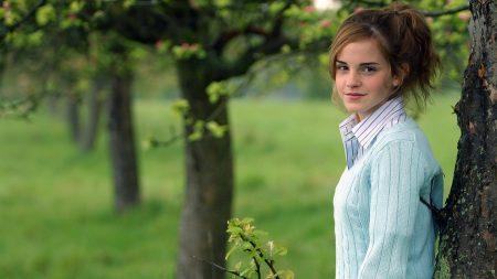 emma watson, brunette actress, sweater