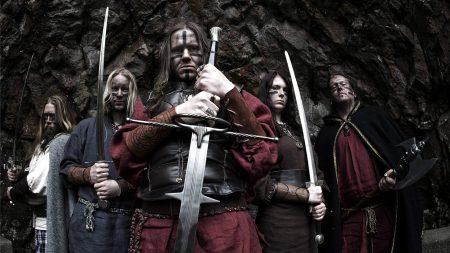 ensiferum, warriors, swords